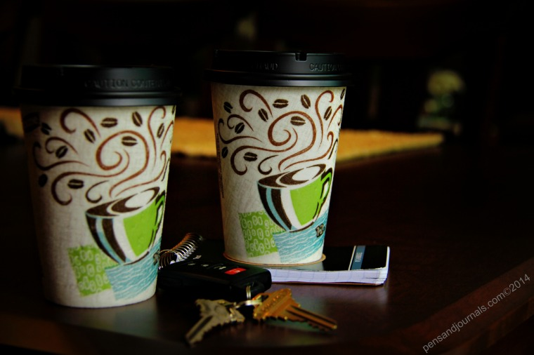 coffee cups and keys x - Copy
